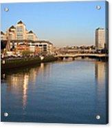 Dublin At Dawn Acrylic Print