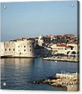 Dubrovnik In Croatia Acrylic Print