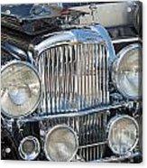 Duesenberg Front Chrome Automobile Grille Acrylic Print