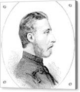 Duke Of Connaught (1850-1942) Acrylic Print
