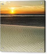 Dune Sunrise Acrylic Print