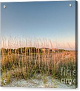 Dunes To Lighthouse Acrylic Print