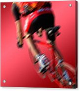 Dynamic Racing Cycle Acrylic Print