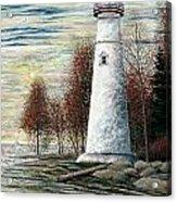 Eagle Bluff Light Acrylic Print