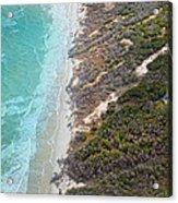 East Coast Aerial Near Jekyll Island Acrylic Print