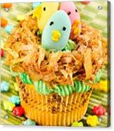 Easter Cupcakes  Acrylic Print