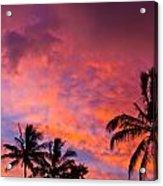 Easter Island Sunrise 2 Acrylic Print