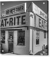 Eat Rite Diner Route 66 Acrylic Print