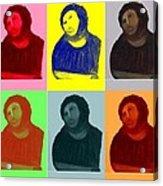Ecce Homo - Warhol Style Acrylic Print