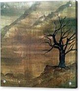 Edge Of Reason And Rationality Acrylic Print