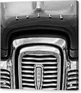 Edsel Corsair Grille Emblem Acrylic Print