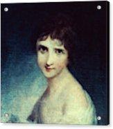 Eleanor Parke Custis Lewis(1779-1852) Acrylic Print