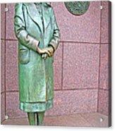 Eleanor Roosevelt -- 1 Acrylic Print by Cora Wandel