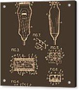 Electric Razor Patent 1940 Acrylic Print