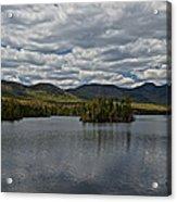 Elk Lake Acrylic Print