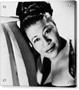 Ella Fitzgerald (1917-1996) Acrylic Print