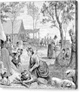 Emigrants Arkansas, 1874 Acrylic Print