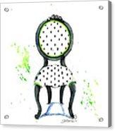 Emma Chair Acrylic Print