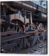 Engine 5629 In The Colorado Railroad Museum Acrylic Print