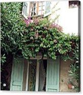 Entrances Of Provence Acrylic Print