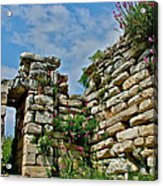 Entry To Saint John's Basilica Grounds In Selcuk-turkey Acrylic Print