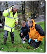 Environmental Soil Monitoring Acrylic Print
