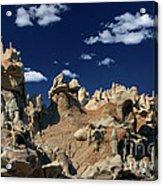 Eroded Sandstone Formations Fantasy Canyon Utah Acrylic Print