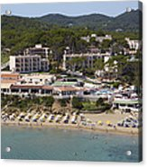 Es Figueral Beach And The Invisa Hotels Acrylic Print