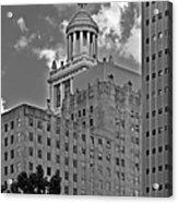 Esperson Buildings Houston Tx Acrylic Print