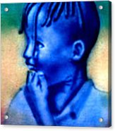 Ethio Boy Acrylic Print
