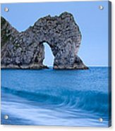 Evening At Durdle Door Acrylic Print