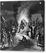 Execution Of Atahualpa Acrylic Print
