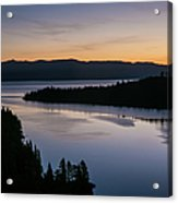 Exploring Lake Tahoe Acrylic Print
