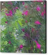Expression Of Impressionism Acrylic Print