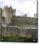 Exterior Of Cahir Castle Acrylic Print