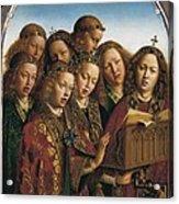 Eyck, Jan Van 1390-1441 Eyck, Hubert Acrylic Print by Everett