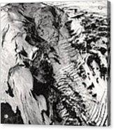 Eyjafjallajokull And The Glacier Acrylic Print