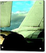 F-14 Tomcat Acrylic Print by Maxwell Amaro