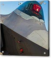 F-22 Raptor Jet Acrylic Print