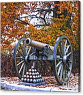Facing Pickettes Charge Acrylic Print