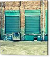 Factory Doors Acrylic Print