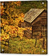 Fall At The Farm Acrylic Print