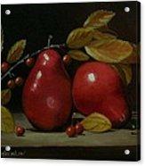 Fall Pear #2 Acrylic Print
