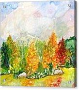 Fall2014-9 Acrylic Print by Vladimir Kezerashvili