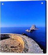 Famous Tower Of Savinar On Ibiza Island Acrylic Print