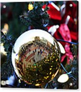Faneuil Hall Christmas Tree Ornament Acrylic Print