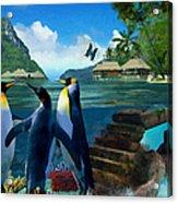 Fantasy Island Acrylic Print