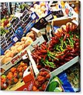 Farmers Market Florence Italy Acrylic Print