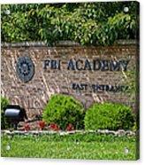 Fbi Academy Quantico Acrylic Print