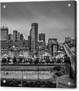 Federal Hill In Baltimore Maryland Acrylic Print